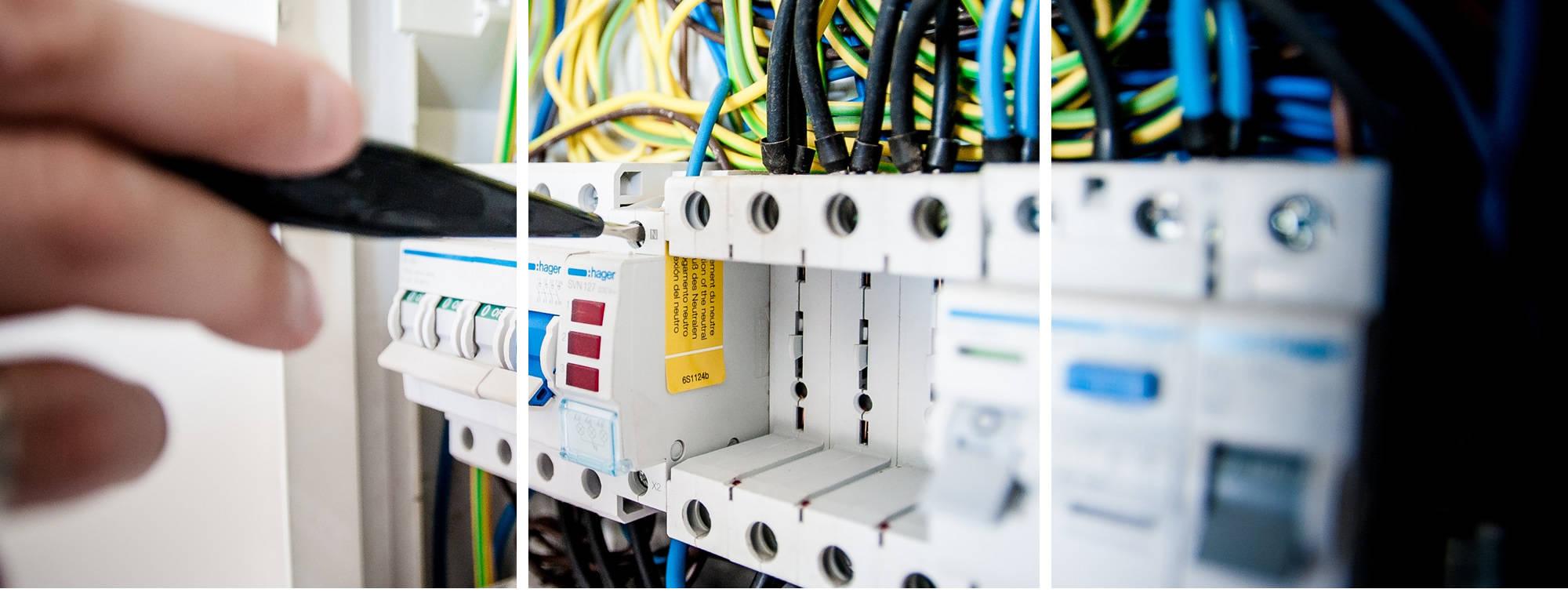 Servicio técnico y mantenimiento de instalaciones eléctricas, sustitución de luminarias, cuadros eléctricos y reparación de instalaciones eléctricas